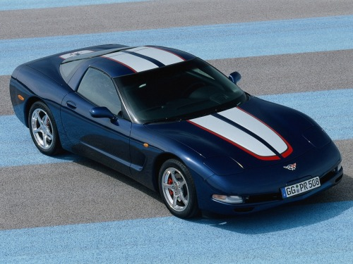 2003 Chevrolet Corvette Z06 Commemorative Edition.