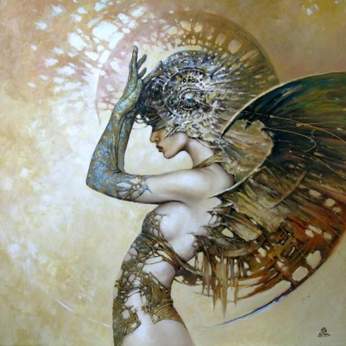 "cosmic-chicken:  ""Stranger"" by Karol Bak"