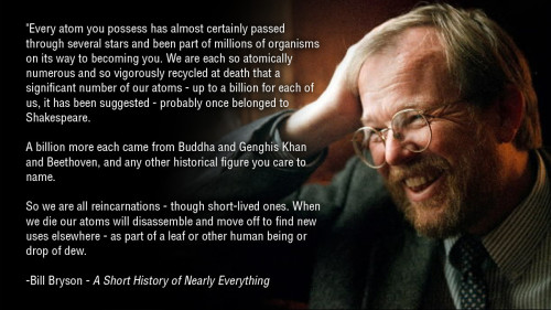 A beautiful thought, although its scary how much this sounds like a Buddhist thought