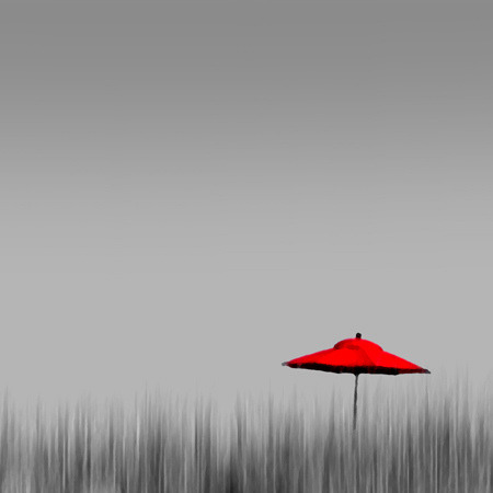 Red Umbrella by lawroberts on Flickr.