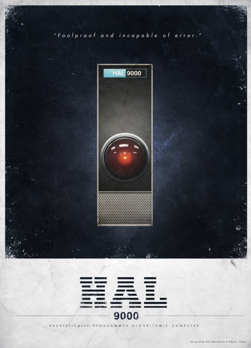 "[HAL's shutdown]  HAL: I'm afraid. I'm afraid, Dave. Dave, my mind is going. I can feel it. I  can feel it. My mind is going. There is no question about it. I can feel  it. I can feel it. I can feel it. I'm a… fraid. Good afternoon,  gentlemen. I am a HAL 9000 computer. I became operational at the H.A.L.  plant in Urbana, Illinois on the 12th of January 1992. My instructor was  Mr. Langley, and he taught me to sing a song. If you'd like to hear it I  can sing it for you.  Dave Bowman: Yes, I'd like to hear it, HAL. Sing it for me.  HAL: It's called ""Daisy.""   [sings while slowing down]  HAL: Daisy, Daisy, give me your answer do. I'm half crazy all for the love of  you. It won't be a stylish marriage, I can't afford a carriage. But  you'll look sweet upon the seat of a bicycle built for two."