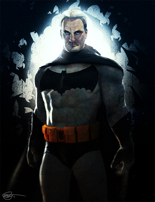xombiedirge:  The Dark Knight by Daniel Scott Gabriel Murray