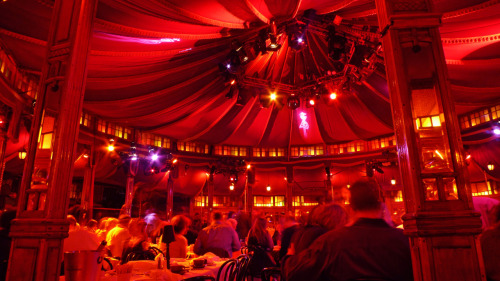 thetenssf:  Under the Big Top at Teatro Zinzanni