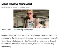 http://aimlesslastwords.com/2011/12/27/movie-review-young-adult/