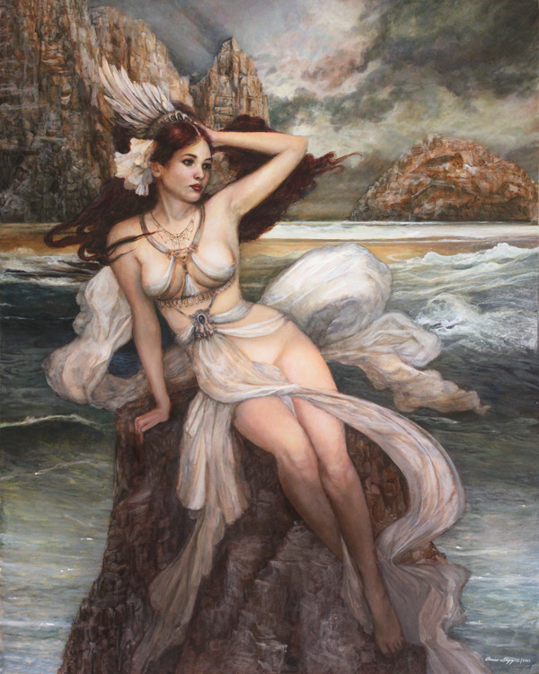 seafairies:  Siren by *PinkParasol on deviantART