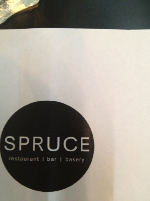 Lunch at spruce. First time here wonder if it's good