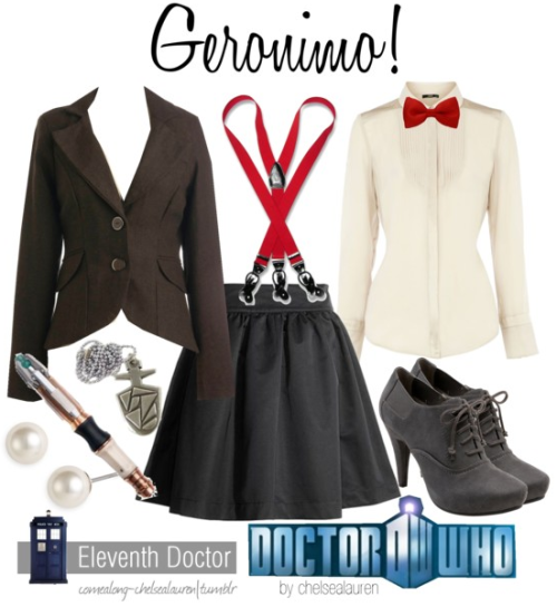 Geronimo! - The 11th Femme!Doctor | Doctor Who - Click Here!