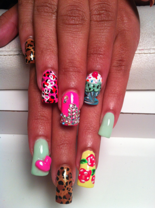 nailsbykandi:  Betsey Johnson reloaded