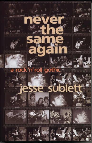 Never the Same Again: A Rock N Roll Gothic, was published in 2004. I decided to write this book as a way of surviving throat cancer, because the odds were pretty bad, about four percent, that I would in fact survive. I figured I finally had enough hardcore plots of my own to write about, because besides this crazy fight I had just begun, with 13 1/2 hours of surgery, followed by many months of chemo and radiation and recovery, I had a few other stories to tell. I knew that the story of the Austin punk scene had not been written about in a full length book, and I was there at Ground zero in 1977, with Kathy Valentine, Carla Olson and Marilyn Dean, in a band called The Violators, plus, simultaneously, I started a band with Eddie Munoz and Billy Blackmon called the Skunks, and we pretty much launched the punk / new wave scene at Raul's here in Austin. And then, a couple of years before that, when I was out of town playing in a different band with Eddie, my girlfriend was murdered by a serial killer here in Austin. So… I decided it was time to go back and investigate a few things. If not for my wife, Lois Richwine, my son, Dashiell, my doctor, Melba Lewis… and many other great friends, I wouldn't have been able to write the book… in fact, I'd be dead now. Talk about some dark blues, man, oh man…. Anyway, it's a pretty good book. The music parts are pretty funny.