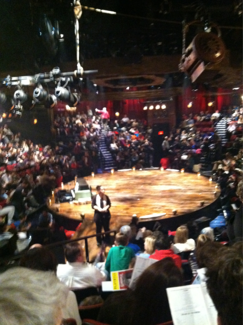 I saw Godspell yesterday! Amazing!