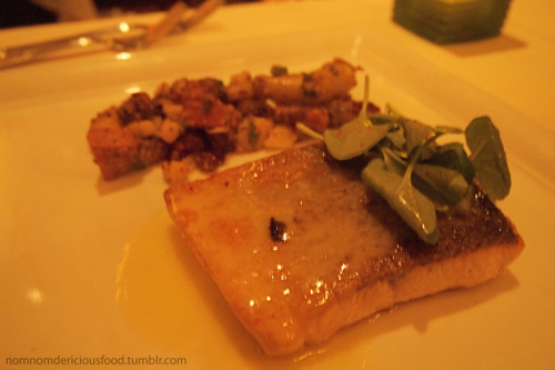 Brown Butter Seared Salmon @ Roy's Restaurant in Pasadena