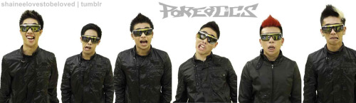 Poreotics' Awkward faces =D Who's your bet? HAHA