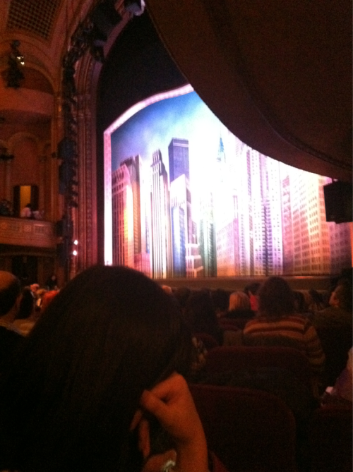 "And I saw ""How to Succeed…"" with DANIEL RADCLIFFE!"