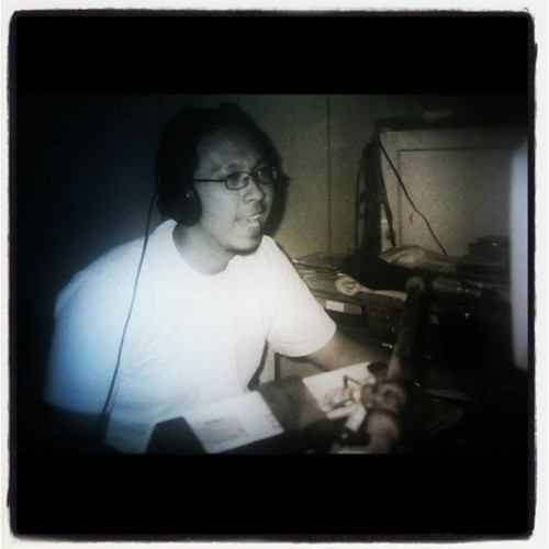 I really1000x!!!miss this #job #me #radio #announcer #selfpotrait #selfpic #instagram #instafreak #instagood  (Taken with instagram)