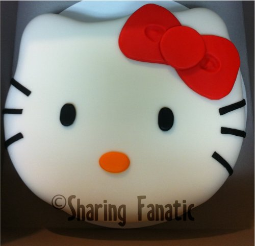Just wanted to share this Hello Kitty cake I made for a friend about two months ago. I am by no means a cake expert, but I have a passion for crafts, design, decor, and cake decorating.