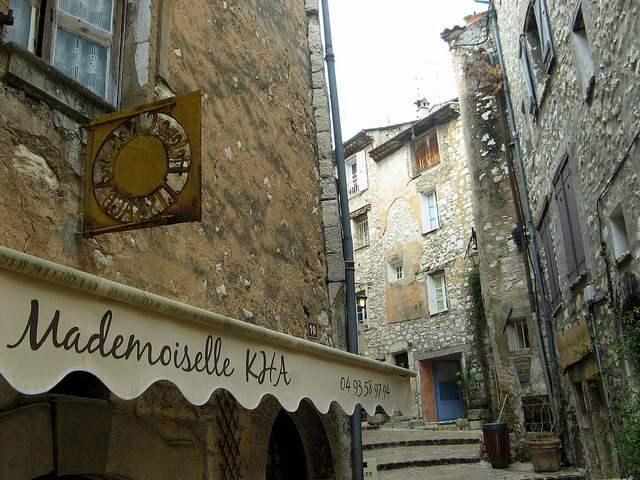 | ♕ |  Provençal Boutique in Tourrettes  | by © Onno de Wit | via ysvoice