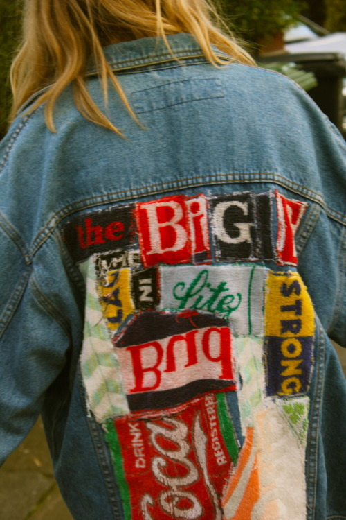 bleachedkt:  the beer mats jacket