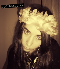 God hates me. The hat girl ;)
