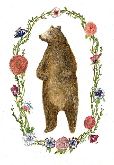 silents:  Bear by Lizzy Stewart on Flickr.