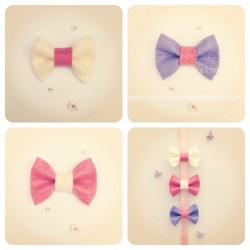 Baby bows! $23 USD for the set! Message me to order🎀 #bow #bows #baby #babygirl #bubba #toddler #babybows #babybow #fashion #shopping #handmade #etsy #pink #lilac #beige #twins #cutebaby #cute #pretty #sweet #babyclothes #ribbons #ribbon  (Taken with Instagram at www.etsy.com/shop/nikkimontenegro)