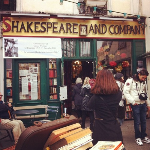 booksandquills:  kayleyhyde:  Taken with Instagram at Shakespeare & Company  WOOOOOO!