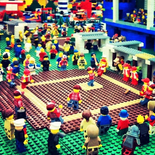 Industrial Lego Baseball  (Taken with instagram)