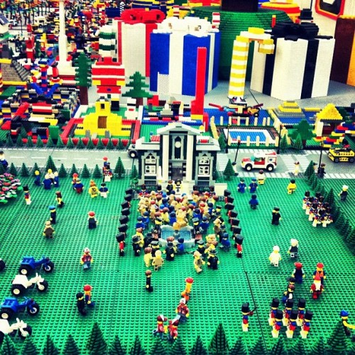 World Of Lego (Taken with instagram)