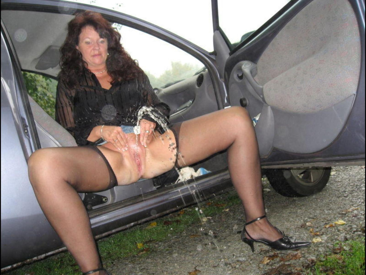 Boy!! bbw car porno