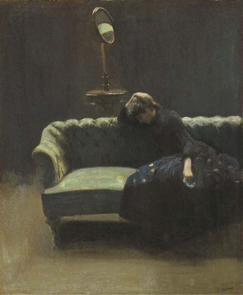 The Acting Manager by Walter Sickert, c.1885.