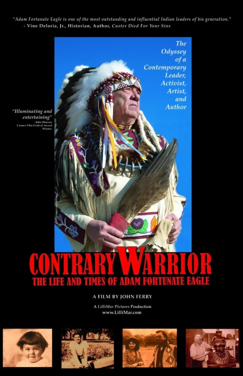 "Contrary Warrior tells the story of Adam Fortunate Eagle Nordwall who  was born on the Red Lake Indian Reservation; his mother was Chippewa  and his father a Swede. At the age of five, his father dead and his  mother unable to provide for eight children, Adam and his siblings are  sent to an Indian boarding school where he spends his childhood. His  story is different from most who have spent time in Indian boarding  schools. He considers those ten years a positive experience and a way,  during the depression, of avoiding the overwhelming poverty, hunger and  disease of living on a reservation. There he also learns many skills and  disciplines that serve him well later in life. At Haskell Institute in Lawrence, Kansas he meets his future wife,  Bobbie, and both move to Oklahoma City where he and Bobbie get married.  They work at several odd jobs and eventually move to San Francisco where  he becomes a successful businessman and the ""perfect"" urban Indian - a  poster child for the Bureau of Indian Affairs. Prejudices toward Indians  in the Bay area motivates him to become an advocate for the rights of  urban Indians. And thus begins his activism, which eventually leads to  the Indian takeover of Alcatraz Island in 1969. Adam is one of the  principal organizers and one of the main figures in negotiating with  federal officials who are sent almost daily by President Nixon. After  nineteen months Nixon signs –– papers repudiating the Indian Termination  Act declaring it no longer valid. A series of reforms are implemented  in urban areas and on reservations with improved health and welfare  programs for American Indians. But because of his activism, the government considers him an ""enemy  of the State,"" and he loses his business and virtually everything he  owns. Forced to move to the Paiute-Shoshone Reservation where his wife  was born, he turns this negative experience into a positive one by  honing his skills as a ceremonial pipe maker, sculptor, and author and  continues his calling as a ceremonial leader and statesman for his  people. Contrary Warrior: The Life and Times of Adam Fortunate Eagle is the  winner of the Audience Award at the 2011 Cine Las American International  Film Festival in Austin, and awarded the Platinum Reel Award for  Documentary at the Nevada Film Festival. URL: http://bit.ly/siSkLFDirectors: JOHN FERRY Cast: ADAM FORTUNATE EAGE Tags: Native American https://www.thewatchbox.com/movies/100-contrary-warrior-the-life-and-times-of-adam-fortunate-eagle www.facebook.com/thewatchbox www.twitter.com/thewatchbox"