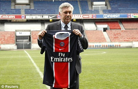 Carlos Ancelotti gets himself a Parisian Sick Kit