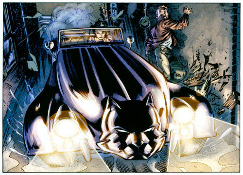 discowing:  The Catmobile. [Batman 686]