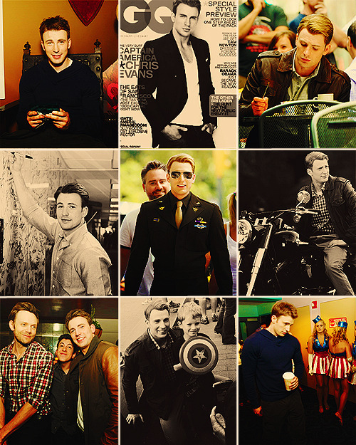 things i loved about 2011 → chris evans.