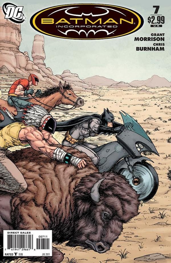 My Favorite (Single Issue) Comics of 2011 #6-10    Batman and Robin (Vol. 2) #4 by Peter J. Tomasi (W), Patrick Gleason (P), Mick Gray (I), John Kalisz (C). December 14, 2011. Batman Incorporated (Vol. 1) #7 by Grant Morrison (W), Chris Burnham (P/I), Nathan Fairbairn (C). May 25, 2011. Batman Incorporated: Leviathan Strikes (Vol. 1) One-Shot by Grant Morrison (W), Chris Burnham (P/I), Cameron Stewart (P), Nathan Fairbairn (C). December 21, 2011. Captain Atom (Vol. 2) #3 by J.T. Krul (W), Freddie E. Williams II (P/I), José Villarrubia (C). November 16, 2011. Detective Comics (Vol. 1) #878 by Scott Snyder (W), Jock (P/I), David Baron (C). June 29, 2011.   #1-5 #11-15 #16-20 #21-25