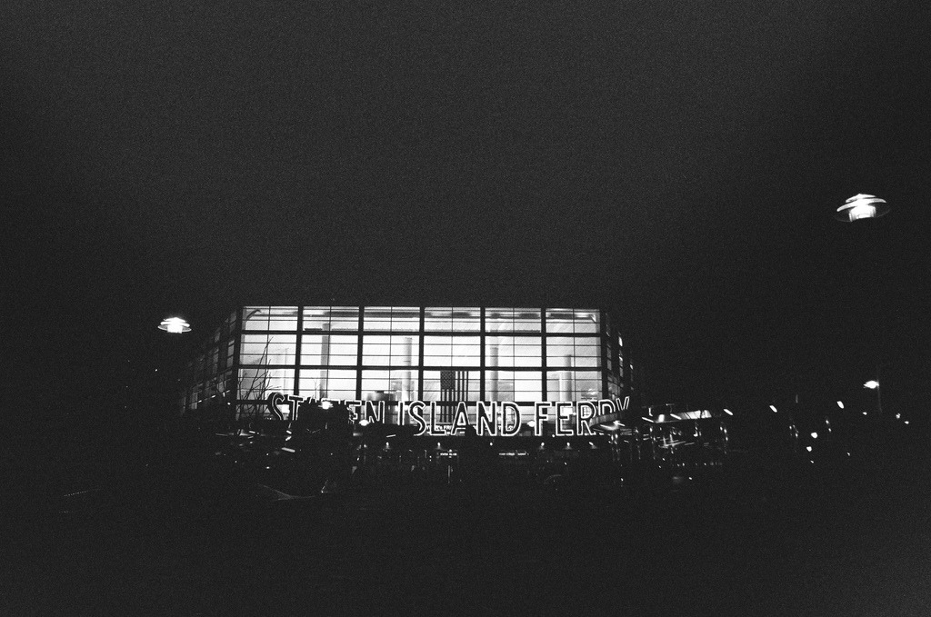 Staten Island Ferry  Nikon F3 | 28mm f/2.8 | Tri-X 400 Pushed to 1600