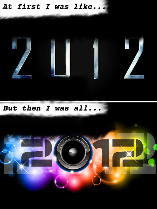 At first I was like…but then I was all… #happynewyear