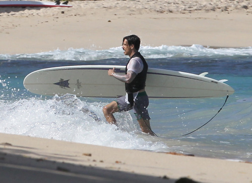 Anthony Kiedis on St. Barts Island on December 29th, 2011.View more photos…