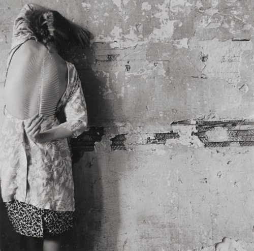 workman:  Untitled (New York, self-portrait, 1979) by Francesca Woodman