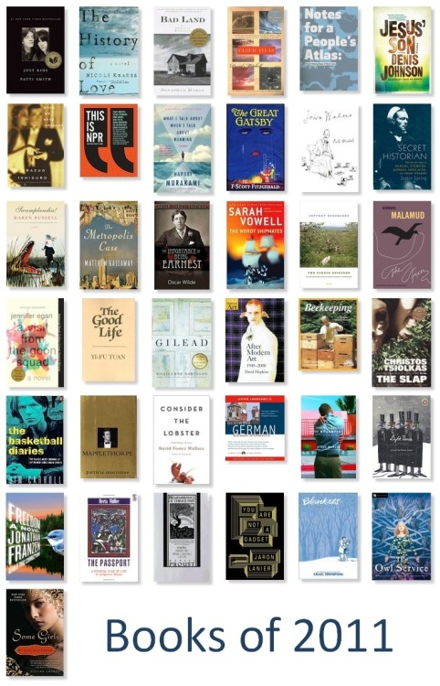 Pictured above, the thirty-seven books I've read this year.