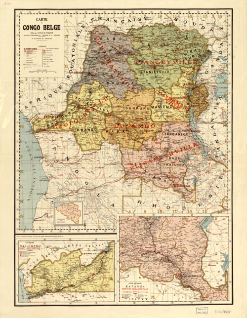 cartographymaps:  Unknown, 1896, Central Belgian Congo