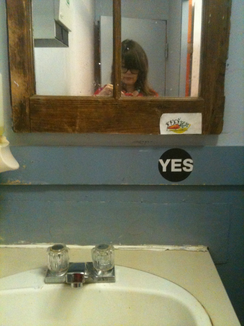 """Yes, Kingston Cafe bathroom."""