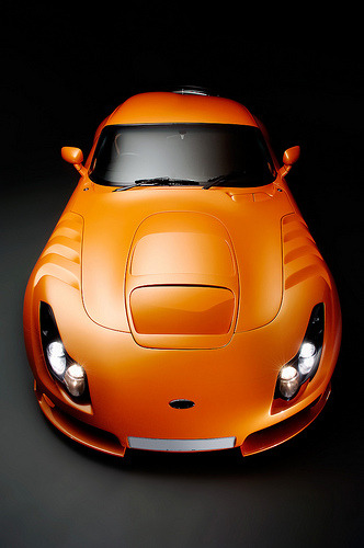 automotivated:  TVR Sagaris front (by Flow Images)