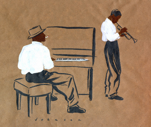 eatsleepdraw:  New York Jazz Festival