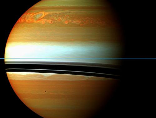 spacep0rn:  A Raging Storm System on Saturn