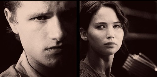 """Why him? I think. Then I try to convince myself it doesn't matter. Peeta Mellark and I are not friends. Not even neighbors. We don't speak. Our only real interaction happened years ago. He's probably forgotten it. But I haven't and I know I never will."" -Katniss"