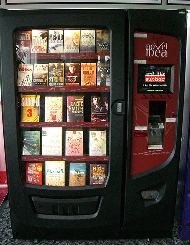 booklit:  A Book Vending Machine. Handy.