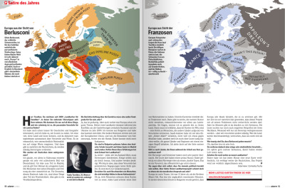 insigniac:  Stern Magazine: Mapping Stereotypes is Satire of the Year | Alphadesigner Blog