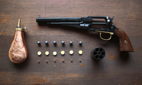 thingsorganizedneatly:  SUBMISSION: Remington 1858.