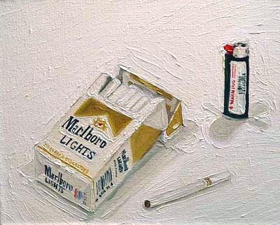 stilllifequickheart:  Joe Hameister Marlboro Lights - Hard Pack 2011
