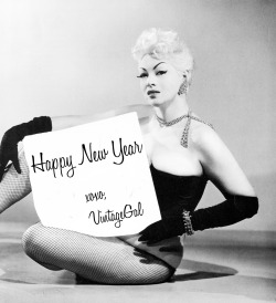 vintagegal:  Happy New Year to everyone! I won't be online tomorrow so wishing you a safe and happy holiday early! xoxoxoxo Cat